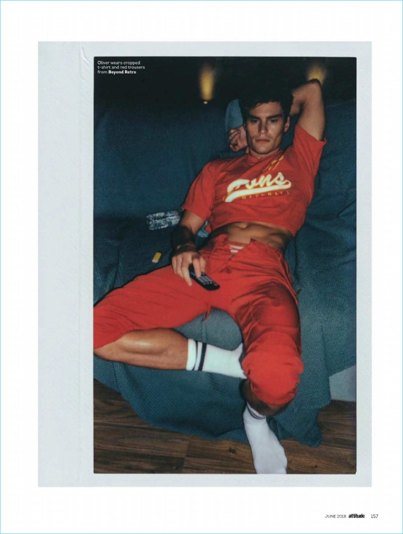 Oliver Cheshire Dons Vintage Styles for Attitude