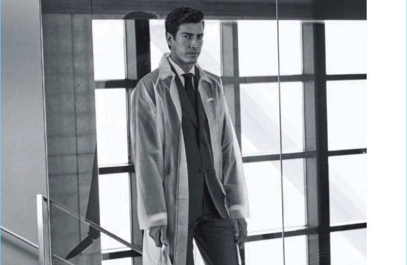 Oriol Elcacho Channels American Psycho for GQ China