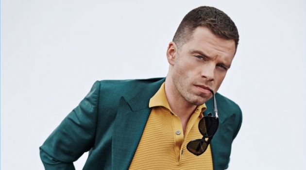 Sebastian Stan Suits Up for GQ, Talks Role Diversity