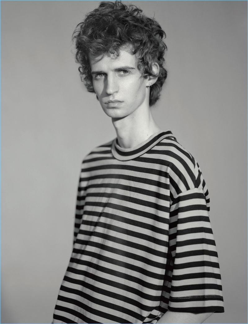 Tom Atton Moore Sports Eclectic Style for T Magazine Spain
