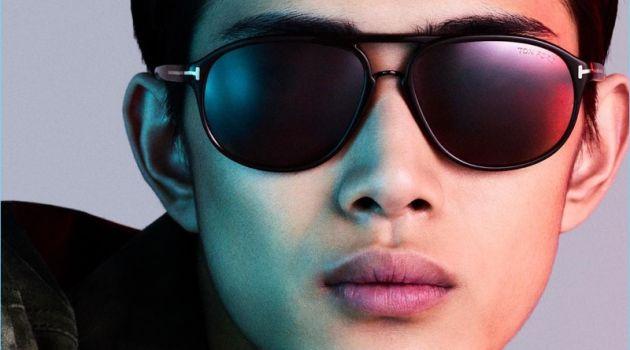 Li Yufeng is Sleek Vision in Tom Ford Eyewear