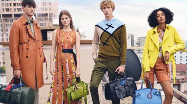 Sven de Vries & Jegor Venned Embrace Stylish Cool for Trussardi Spring '18 Campaign