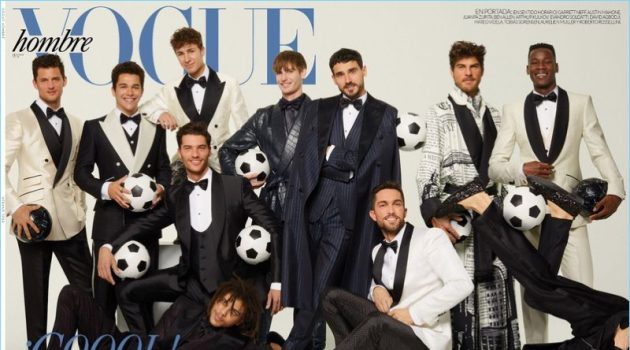 Vogue Hombre Spotlights Dolce & Gabbana Alta Satoria for New Cover Story