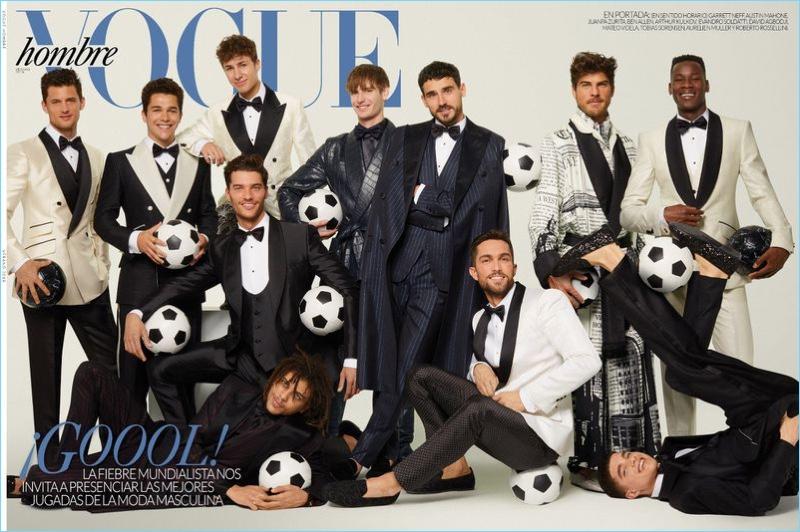 Vogue Hombre Spotlights Dolce & Gabbana Alta Satoria for New Cover Story
