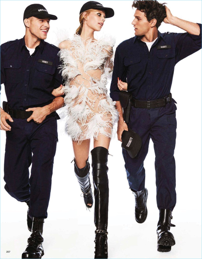 Matthew Noszka, Jacob Hankin + More Join Lexi Boling for Vogue Japan Cover Story