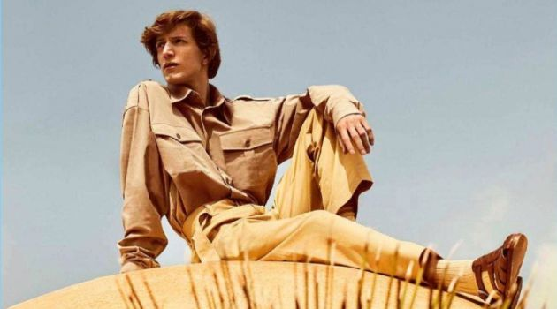 Xavier Buestel Travels to Marrakech for Spanish GQ