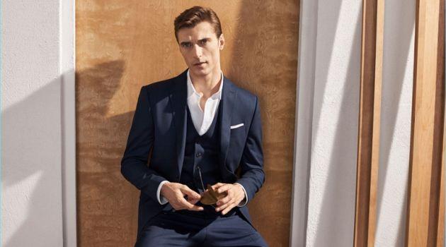Clean Cut: Clément Chabernaud Dons Zara Suiting