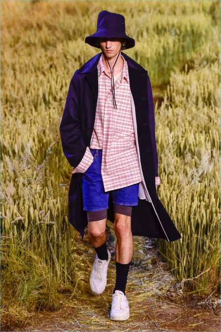 AMI Travels to Normandy for Spring '19 Collection