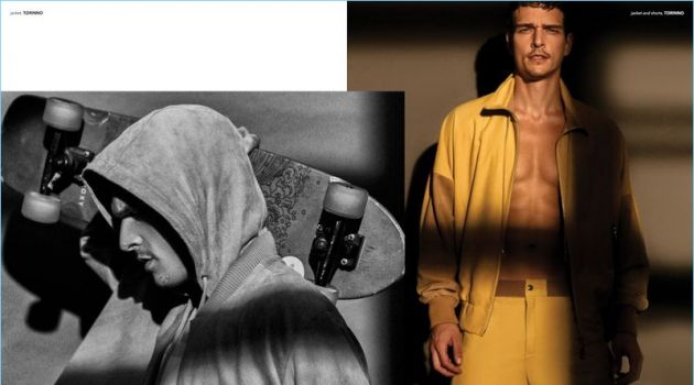 Alexandre Cunha Rocks Summer Style for Victor Cover Shoot