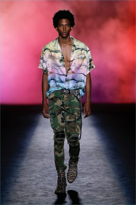 Amiri Embraces 90s Vibe for Spring '19 Collection