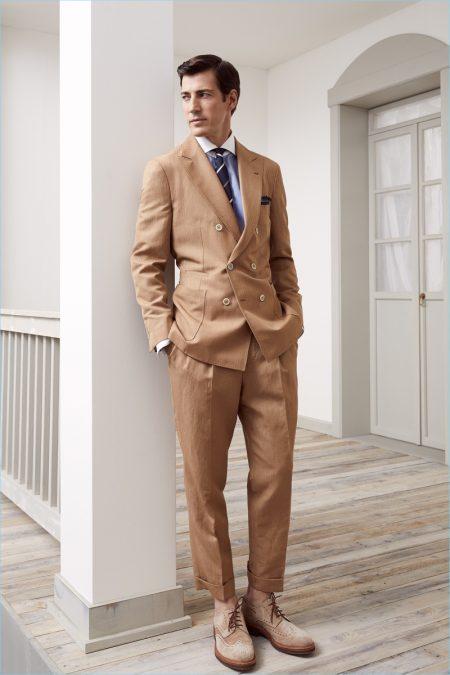 Brunello Cucinelli Reinterprets Gatsby Style for Spring '19 Collection