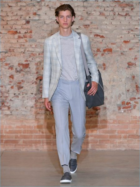 Hyun Wook Lee Makes Canali Debut with Spring '19 Collection