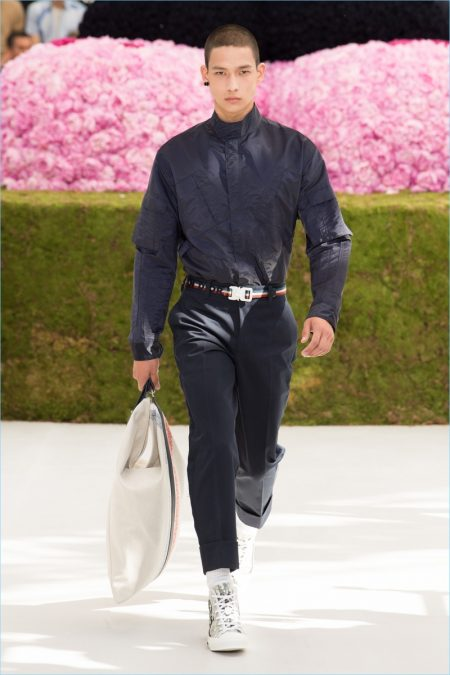 Kim Jones Goes Romantic for Dior Homme Spring '19 Collection