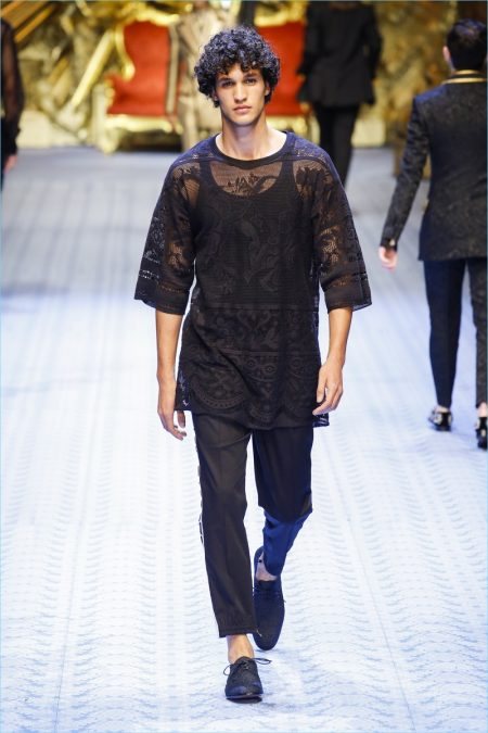 Dolce Amp Gabbana Spring 2019 Men S Collection Runway