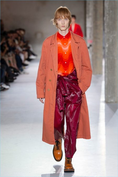 Dries Van Noten Channels 60s for Colorful Spring '18 Collection