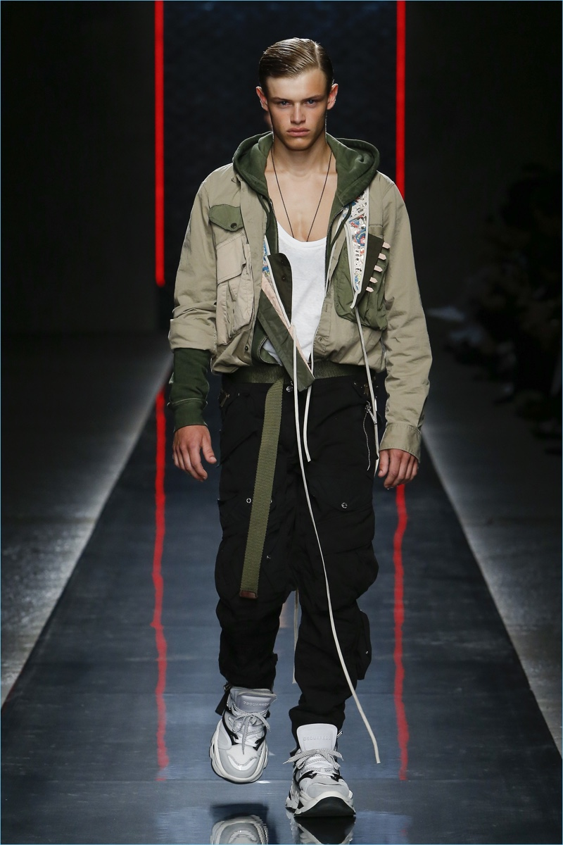 Dsquared2 Spring 2019 Men S Collection Runway Show