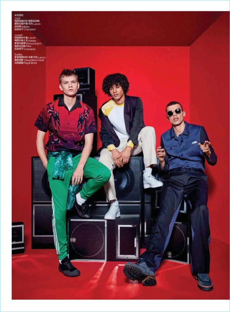 Hella Up High: Sven de Vries, Dudley O'Shaughnessy + More for GQ China