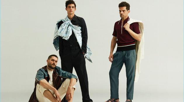 Xavier Serrano, Sergio Mur & Antonio Najarro for Glamour Spain