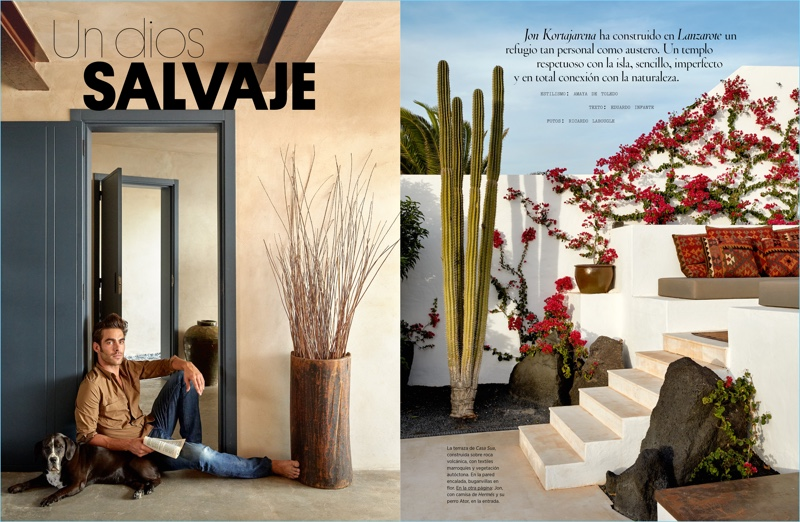 Jon Kortajarena Opens Up His Home to Architectural Digest Spain