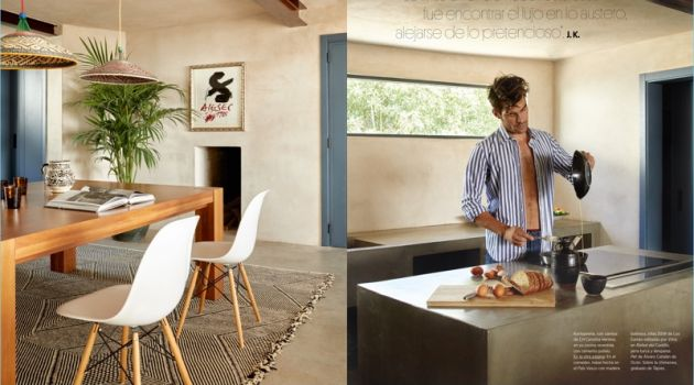 Jon Kortajarena shares his home with Architectural Digest Spain.
