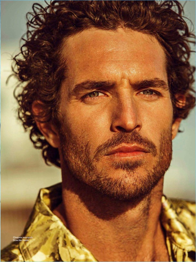 Here Comes the Sun: Justice Joslin for Spanish GQ