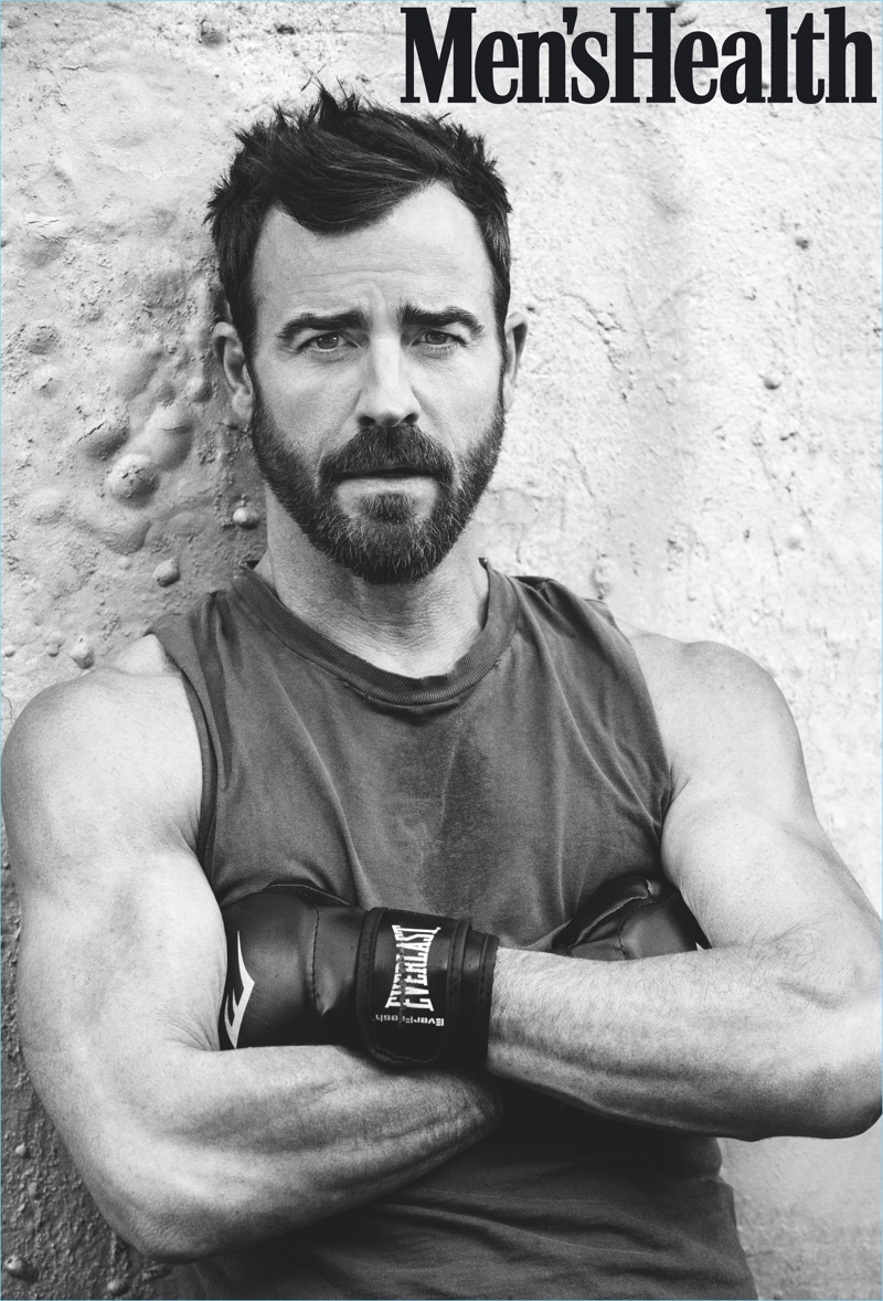 Ben Watts photographs Justin Theroux for Men's Health.