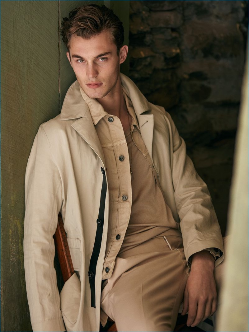 Kit Butler stars in the latest cover story from Issue Man.
