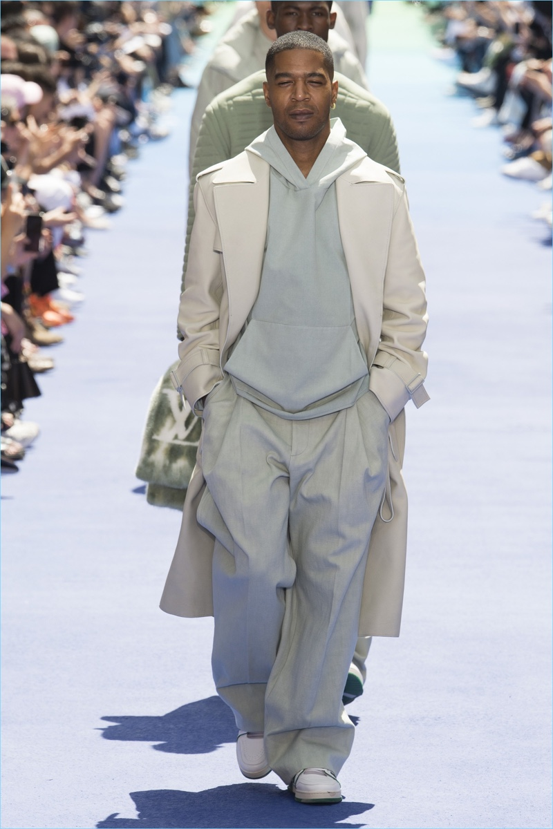 A look from Louis Vuitton's spring-summer 2019 men's collection.