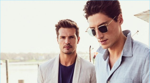 Diego Miguel & Ryan Kennedy Embrace Summer Spirit for Luxury Magazine