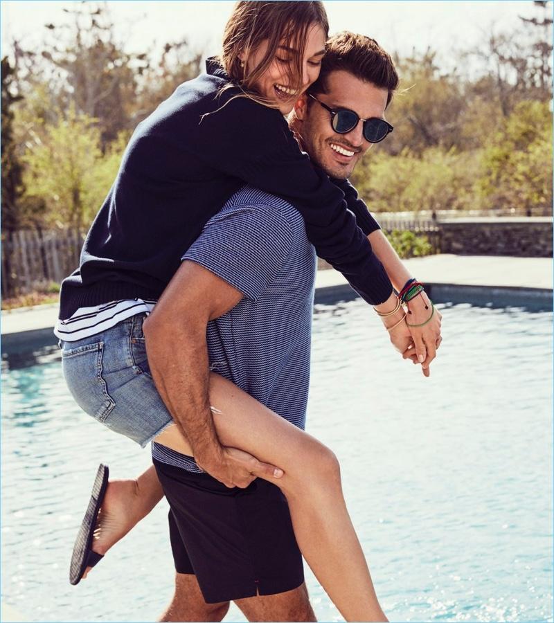 Diego Miguel & Ryan Kennedy Embrace Summer Spirit for Luxury Magazine