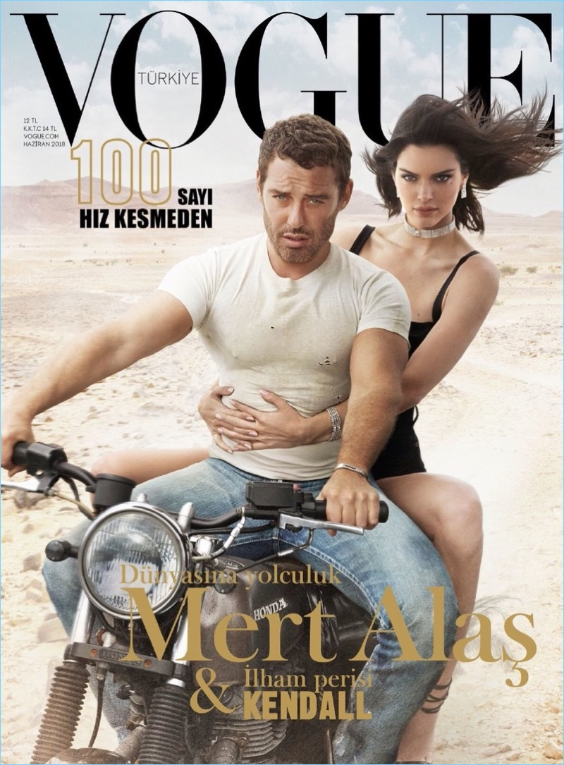 Mert Alas Reunites with Kendall Jenner for Vogue Turkey Cover Story