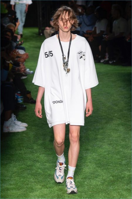 Off-White Does Skater Style for Spring '19 Collection