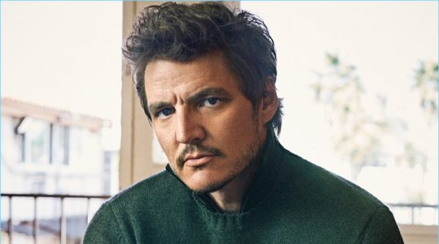 Front and center, Pedro Pascal wears Valentino.
