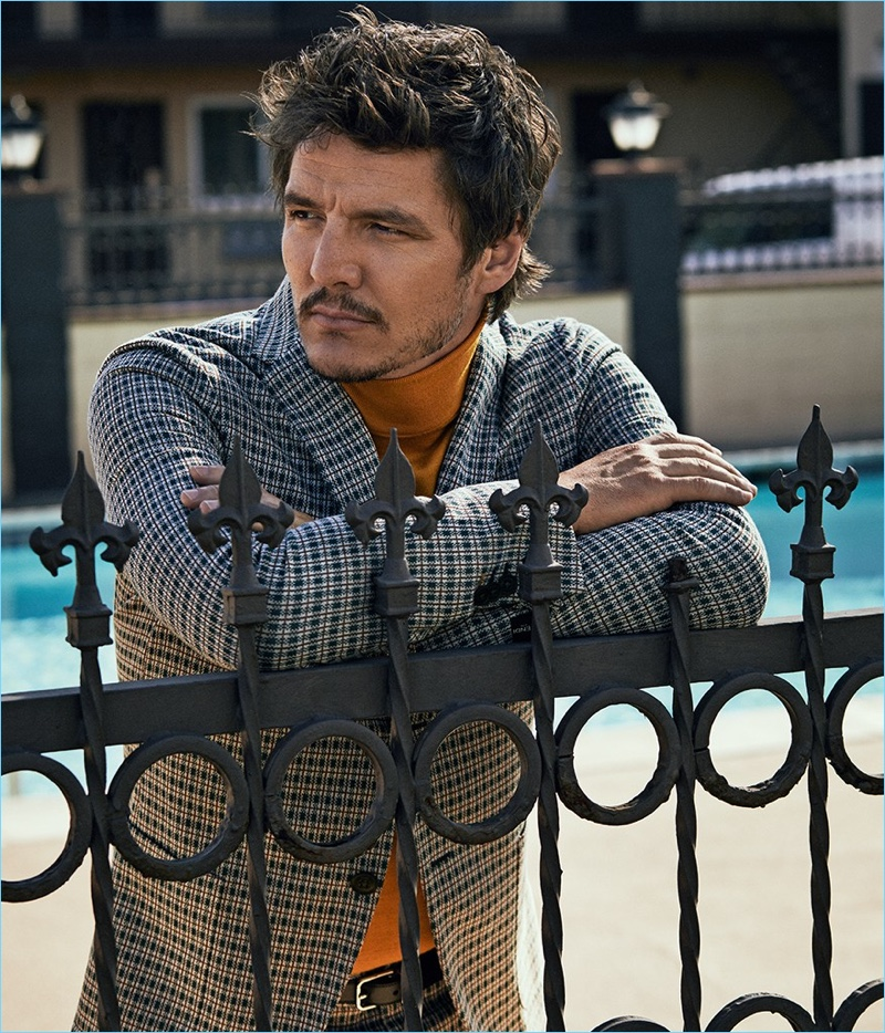 Style Magazine Italia enlists Pedro Pascal as its latest cover star.