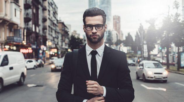 Stylish Man Street Suit