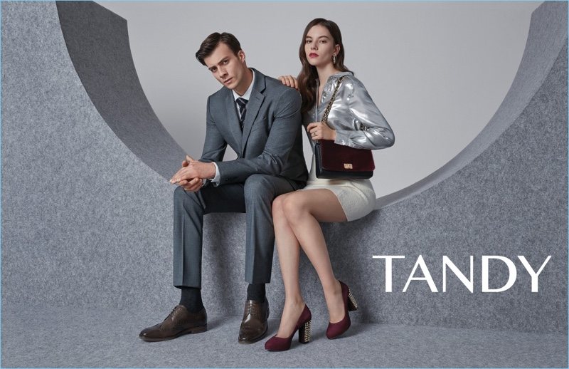 Tandy enlists Gilberto Fritsch to appear in its spring-summer 2018 campaign.