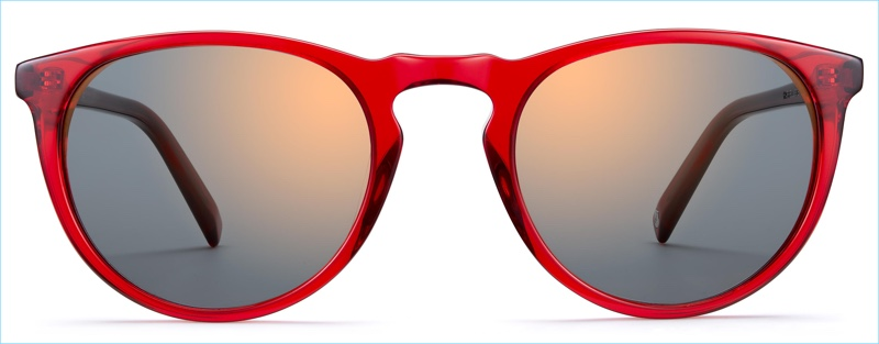 Warby Parker Haskell Sunglasses in Ruby
