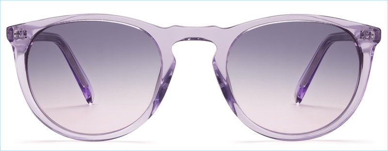 Warby Parker Haskell Sunglasses in Amethyst Crystal