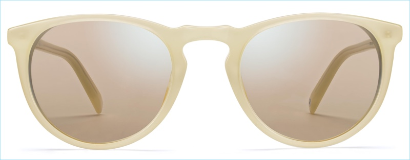 Warby Parker Haskell Sunglasses in Lemon Meringue