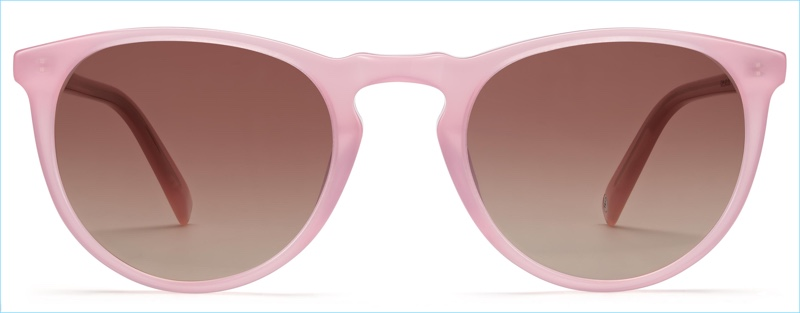Warby Parker Haskell Sunglasses in Pink Opal