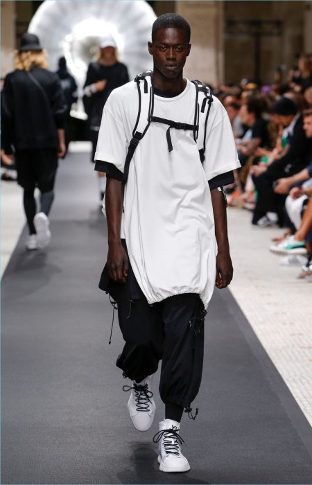 150dfdc82 Y-3 Makes a Black   White Statement with Spring  19 Collection