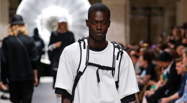 Y-3 Makes a Black & White Statement with Spring '19 Collection