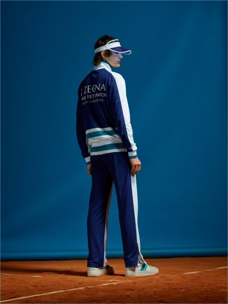 Z Zegna Champions Tennis Style with Spring '19 Collection