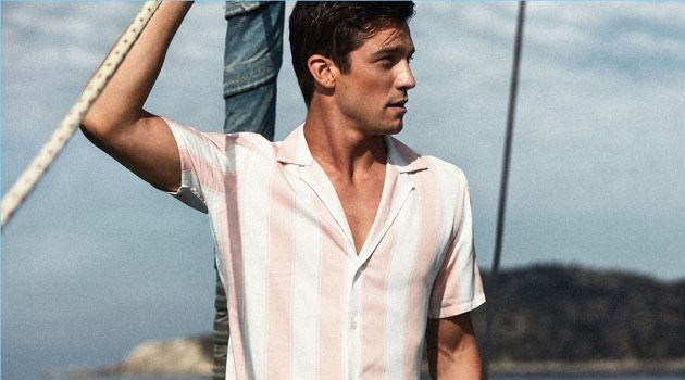 Alexis Petit Takes a Summer Holiday with Reiss