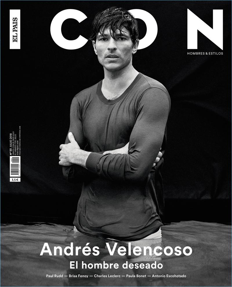 Andres Velencoso Stars in Icon El País Cover Story
