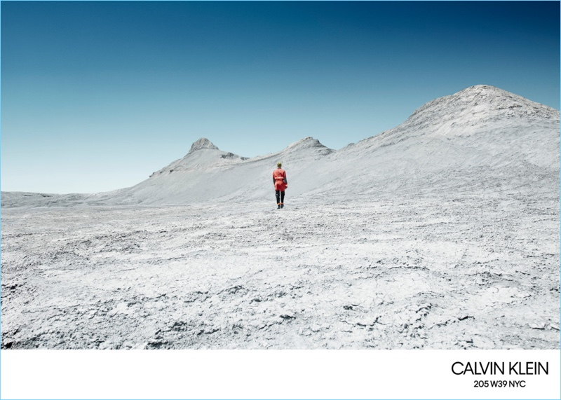 Willy Vanderperre photographs Calvin Klein's fall-winter 2018 campaign.