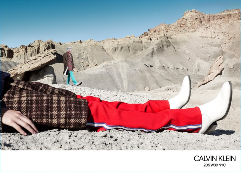 Calvin Klein takes to Utah for its fall-winter 2018 campaign.