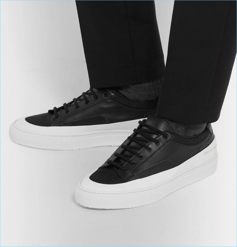 Black \u0026 White Sneakers   Men's Shoes