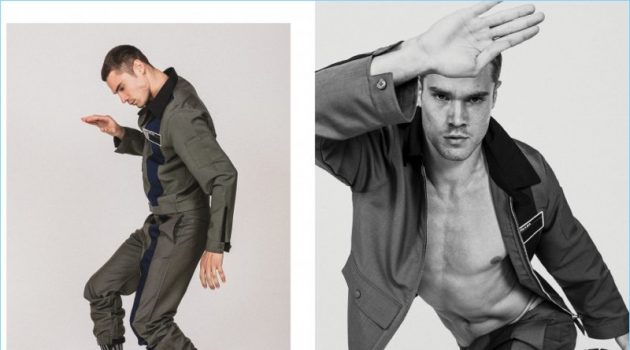 David Martins Hits Poses for Victor Magazine