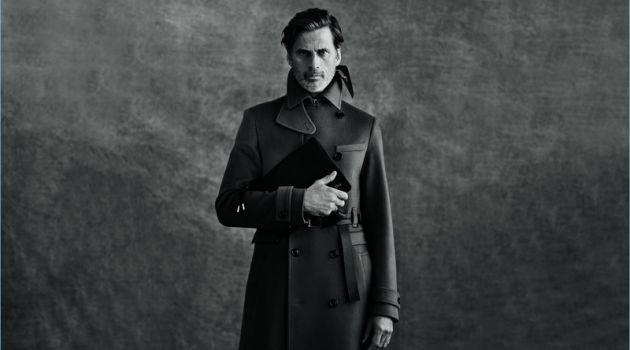 Mark Vanderloo stars in Dior Men's fall-winter 2018 campaign.